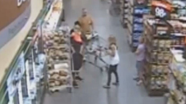Pastor Helps Stop Suspect In MWC Wal-Mart Hostage Situation