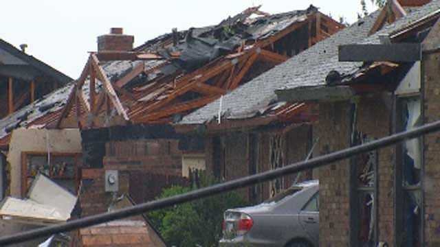 OKC Residents With Storm Damage Asked To Separate Debris