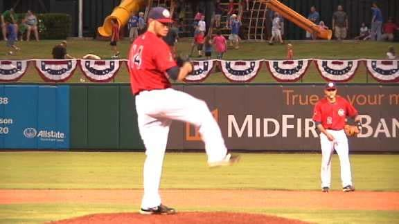 RedHawks Take Down Isotopes Late Monday Night