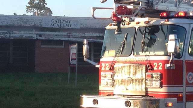 Firefighters Put Out Fire At Abandoned School In OKC
