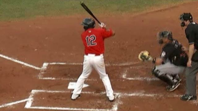 Omaha Scores Two In 9th To Power Past RedHawks