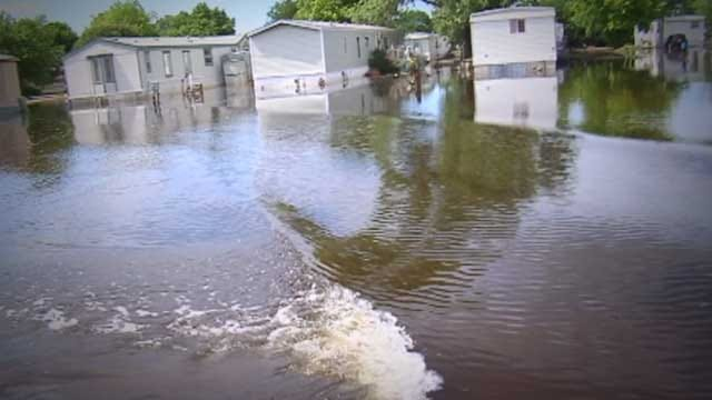 Residents Of Flooded Midwest City Mobile Home Park Can Stay