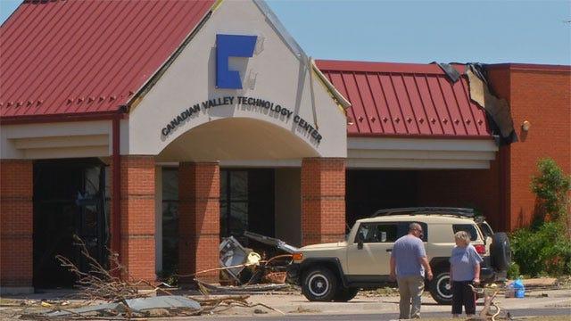 Tornado-Damaged CV Tech To Temporarily Move To Former Yukon Car Dealership