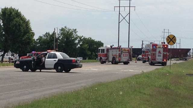 One Killed When Car Collides With Train In NW OKC