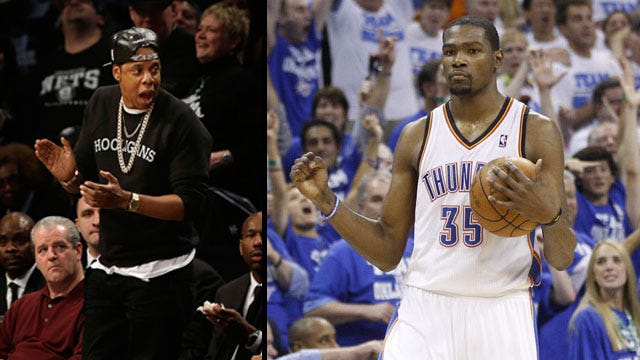 Kevin Durant Signs With Jay-Z's Sports Agency
