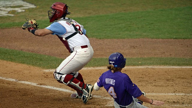 LSU Ends Oklahoma's Season In Rout
