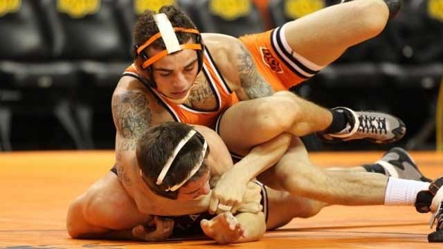Oklahoma State Wins 47th Big 12 Wrestling Title