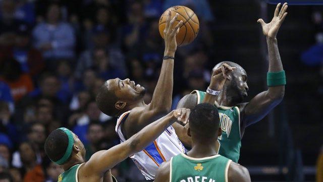 Thunder Outlasts Celtics