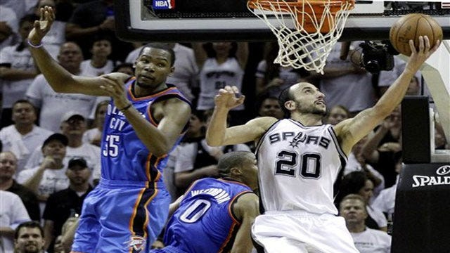 Countdown To The Playoffs: Thunder, Spurs Set To Battle For No. 1