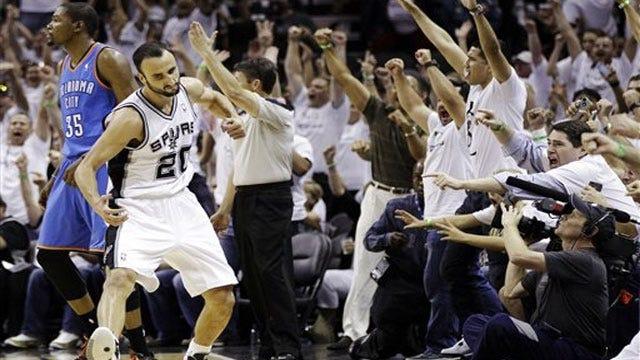 Short-handed Spurs Still Too Much For Thunder