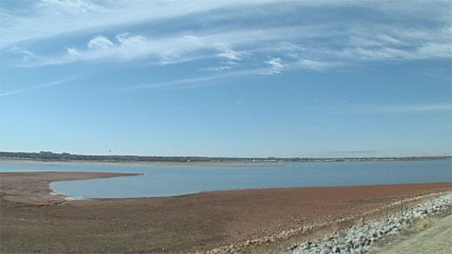 Drought Suspends Boating Season At Lake Hefner