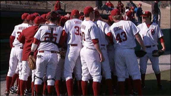 Oklahoma Pitching Tosses Four-Hit Shutout Of New Mexico State