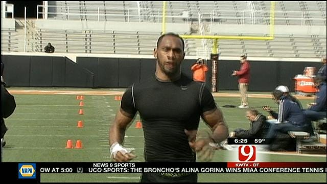 Randle, OSU Players Perform Well At OSU Pro Day