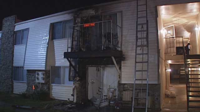 No Injuries In Midwest City Apartment Fire