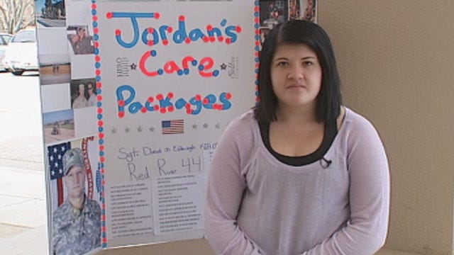 Norman Student Closer To Reaching Goal Of Sending Care Packages To Soldiers
