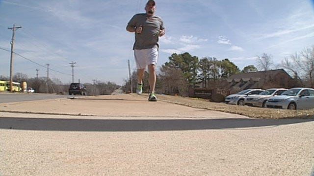 Edmond Pastor Runs To Fight Human Trafficking