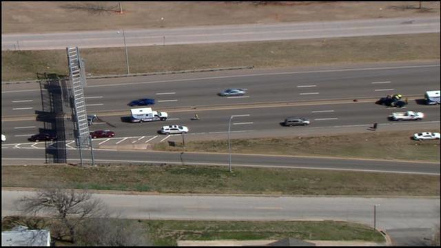 Accident On I-35 In NE OKC Causes Traffic Backup