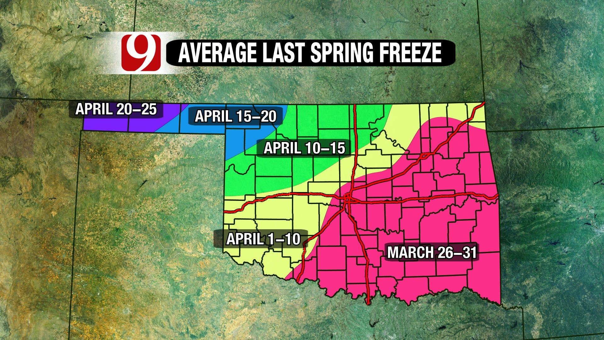 Final Spring Freeze
