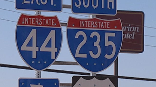 OKC Drivers React To More Construction Work At I-44, I-235 Interchange
