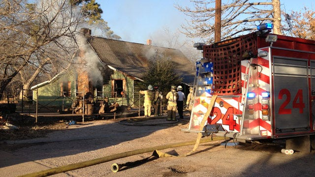 Fire Devastates Northwest OKC Home