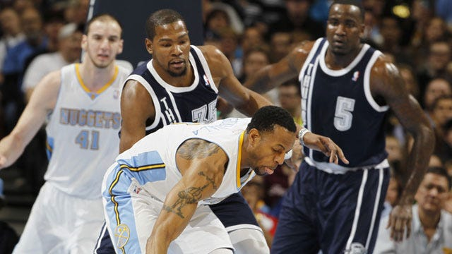 Westbrook Drops 38 But OKC Comes Up Short In Denver
