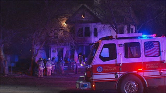 Fire Causes Extensive Damage To Home In NW OKC