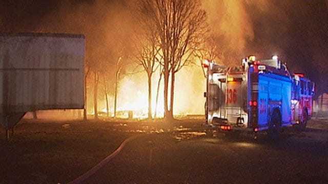 Crews Extinguish Fire At Outbuilding In SE OKC