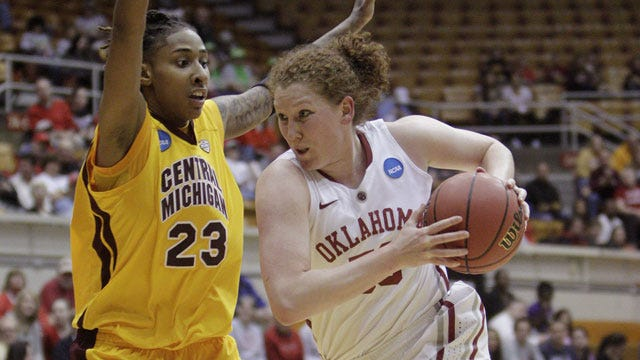 McFarland, Ellenberg Push Sooners Past Central Michigan Into NCAA Second Round