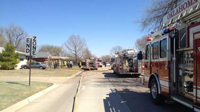 Passer-By Saves Woman From Burning House In Southwest OKC