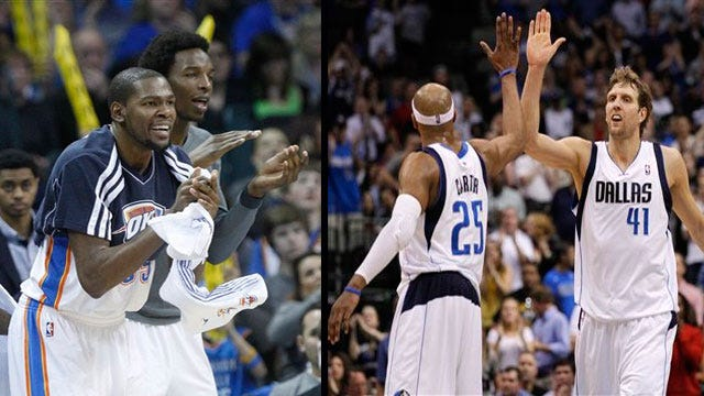 Countdown To The Playoffs: Thunder Pushing For No. 1; Mavs Are Back