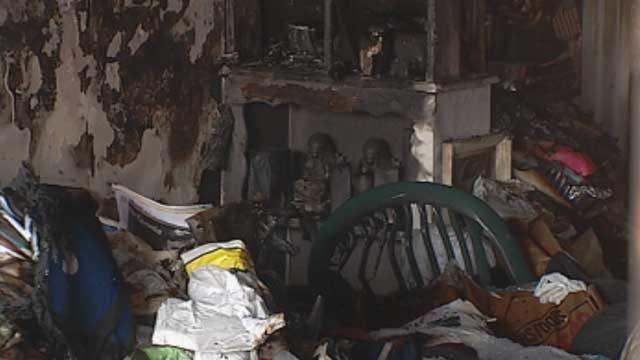 'Good Samaritan' Saves Woman From SW OKC House Fire
