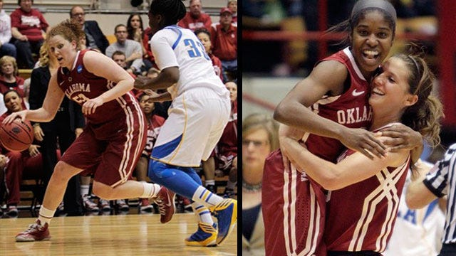 How Sweet It Is: OU Upsets UCLA, Will Face Lady Vols In Round Of 16