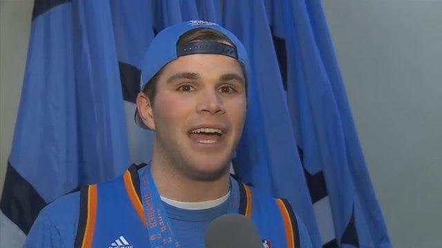 Second Thunder Fan Wins $20,000 After Half-Court Shot