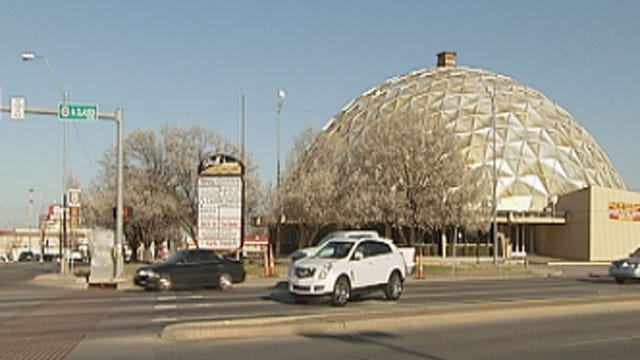Future Of OKC Historic Gold Dome Uncertain