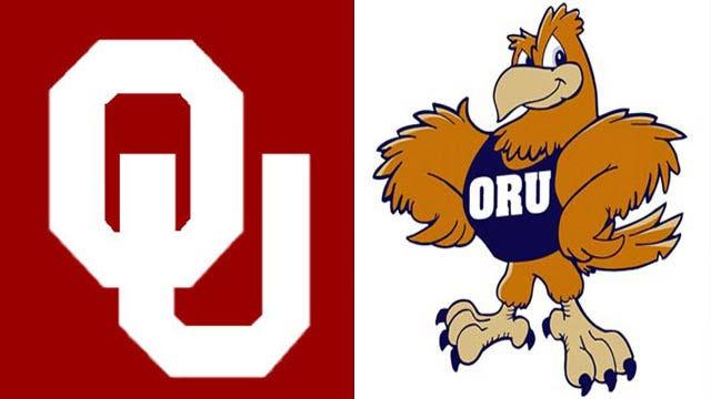 OU Baseball Handles Oral Roberts