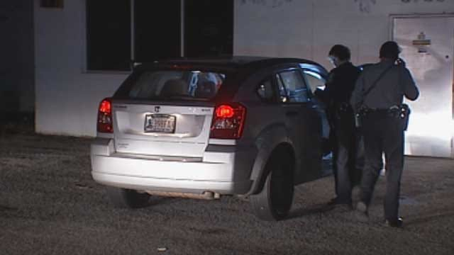 Suspected Drunk Driver Crashes Car Into Building In NW OKC