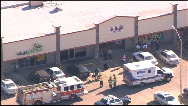 Two Injured After SUV Crashes Into SW OKC Nail Salon