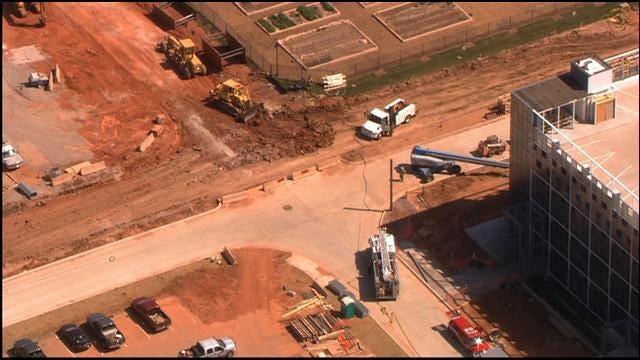 Crews On Scene Of Gas Line Break In NW OKC