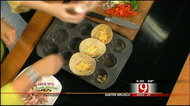 Easter Food: Tortilla Brunch Bake