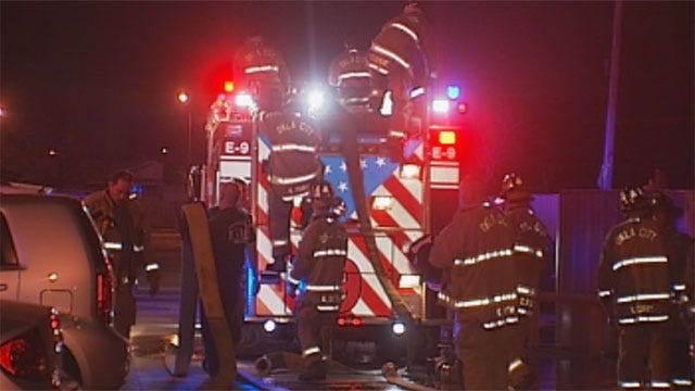 Fire Forces Families From Apartments In SW OKC