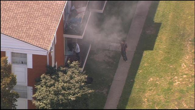 Firefighters Put Out Three Alarm Apartment Fire In NW OKC