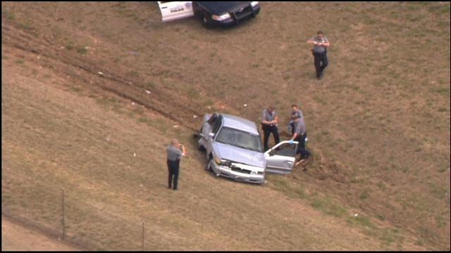 High-Speed Police Chase Ends In Crash In Southwest OKC