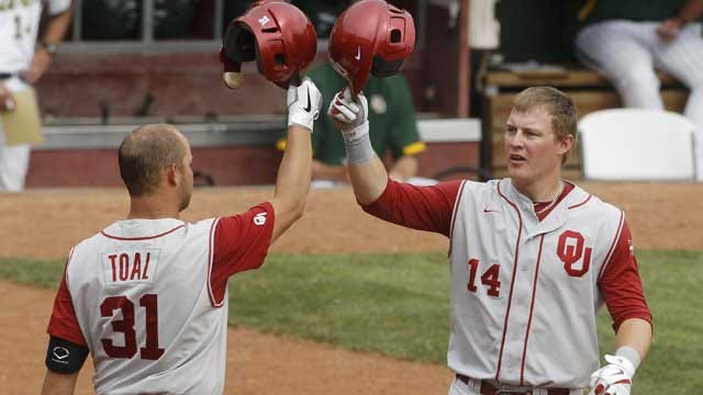 Oberste's Sacrifice Fly Gives OU Another Walk-Off Win
