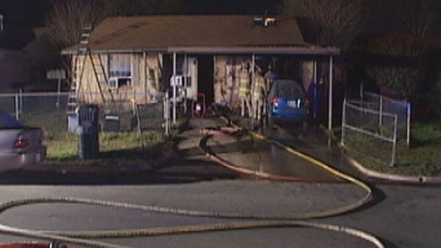 Child Alerts Family To Fire At Southwest OKC Home