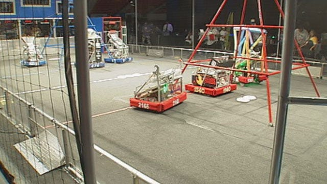 Robotics Competition Kicks Off At Cox Convention Center