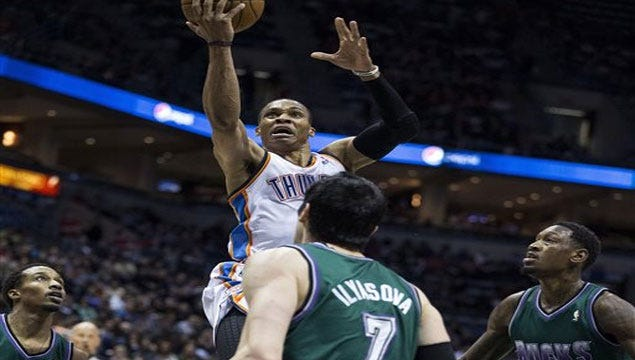 The Bucks Stop Here: Westbrook's Triple-Double Too Much For Milwaukee