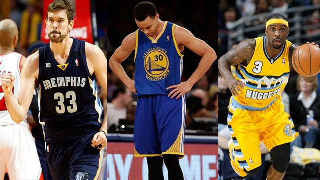 Countdown To The Playoffs: Nuggets, Grizz Surging; Warriors Collapsing