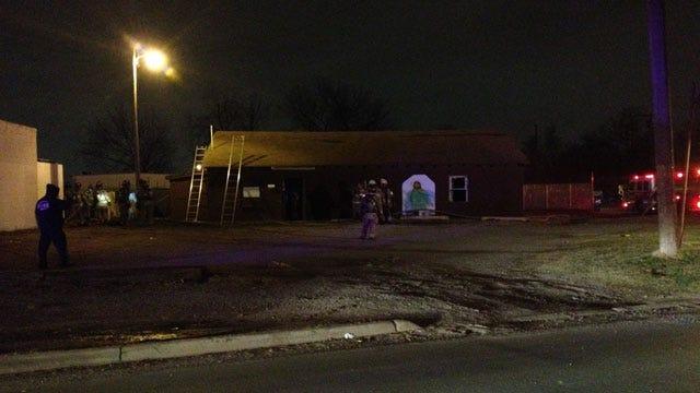 Firefighters Extinguish Blaze At OKC Church
