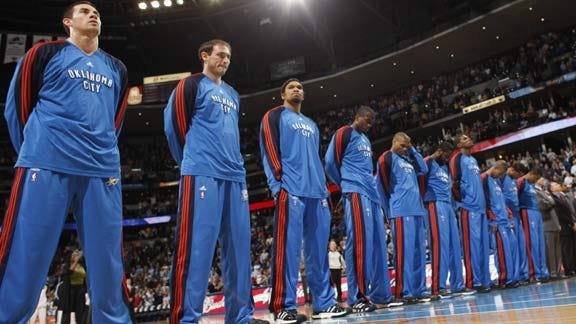 Thunder To Play In 2013-14 NBA Global Games