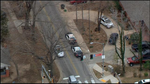 Police Respond To Shooting At Norman Home
